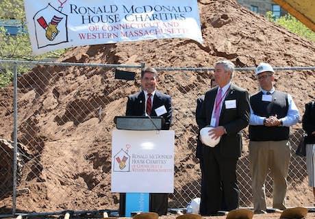 RMHC-CTMA groundbreaking ceremony