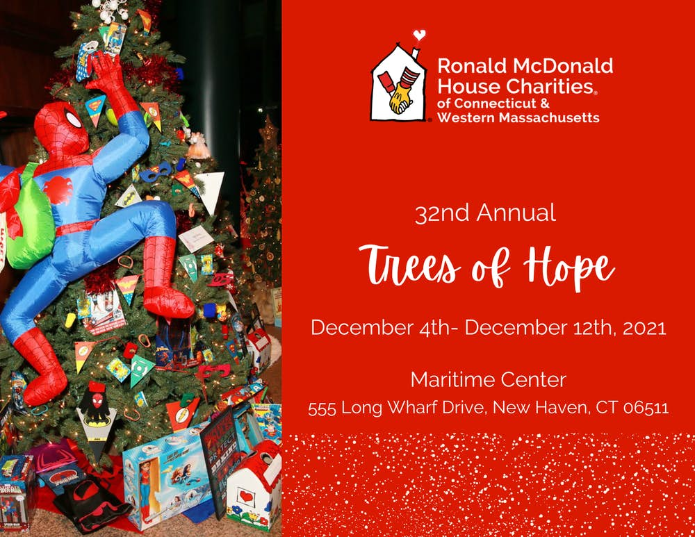 Ronald McDonald House of CT 32nd Annual Trees of Hope